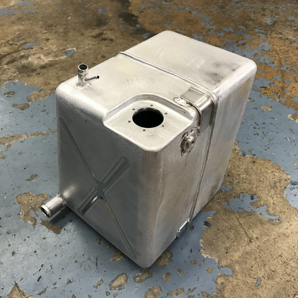 Ferrari Dino 246 fuel tank replacement