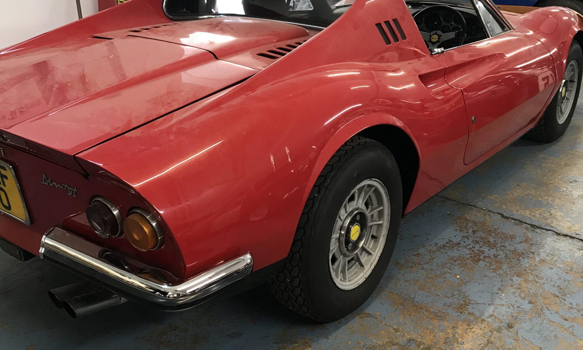 Ferrari Dino 246 service