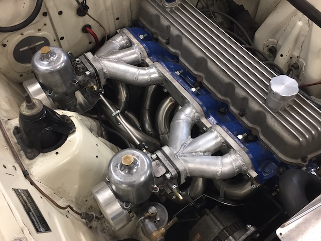 CCK Historic | Ford Falcon 250-2v cylinder head and carb upgrade