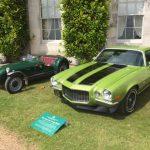 GRRC Goodwood House open day Camaro SS Lotus MKVI