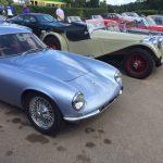 GRRC Goodwood House open day Lotus Elite Jaguar SS