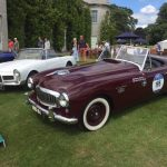 GRRC Goodwood House open day Nash Healey