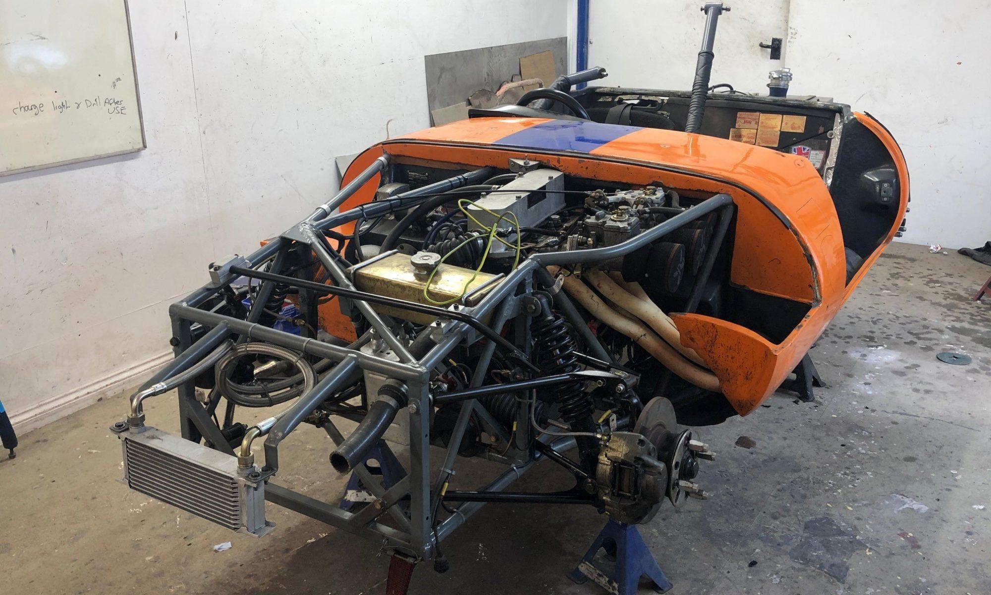 Ginetta G4 historic race car