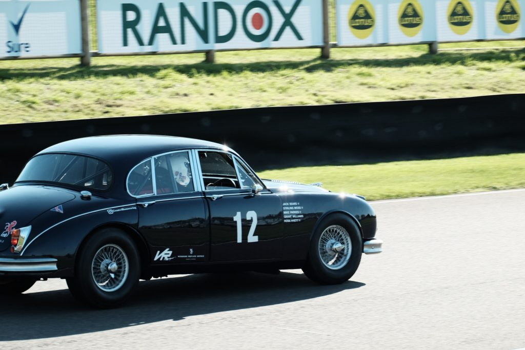 Grant Williams Jaguar Mk2 JAG 400 Goodwood Speedweek