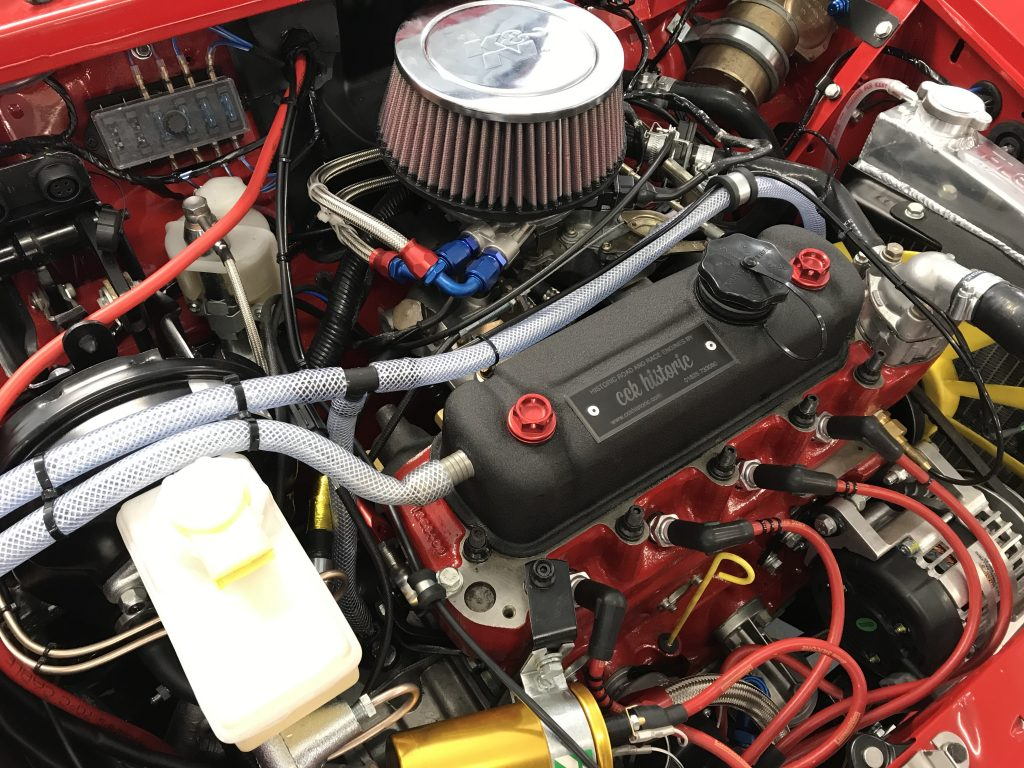 Group A Mini Cooper Spi injection rally engine