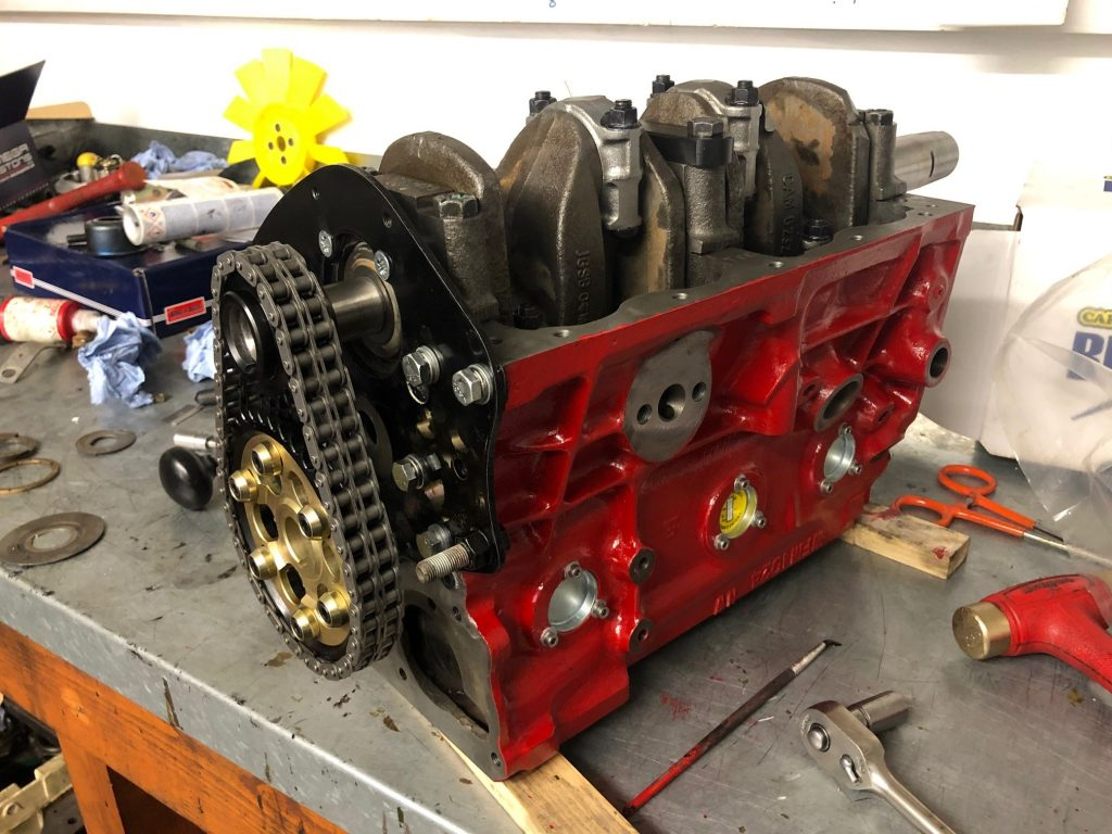 Classic Mini rally engine build