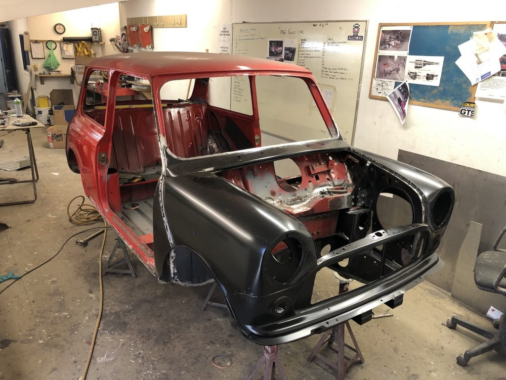 Group A classic Mini Rally build