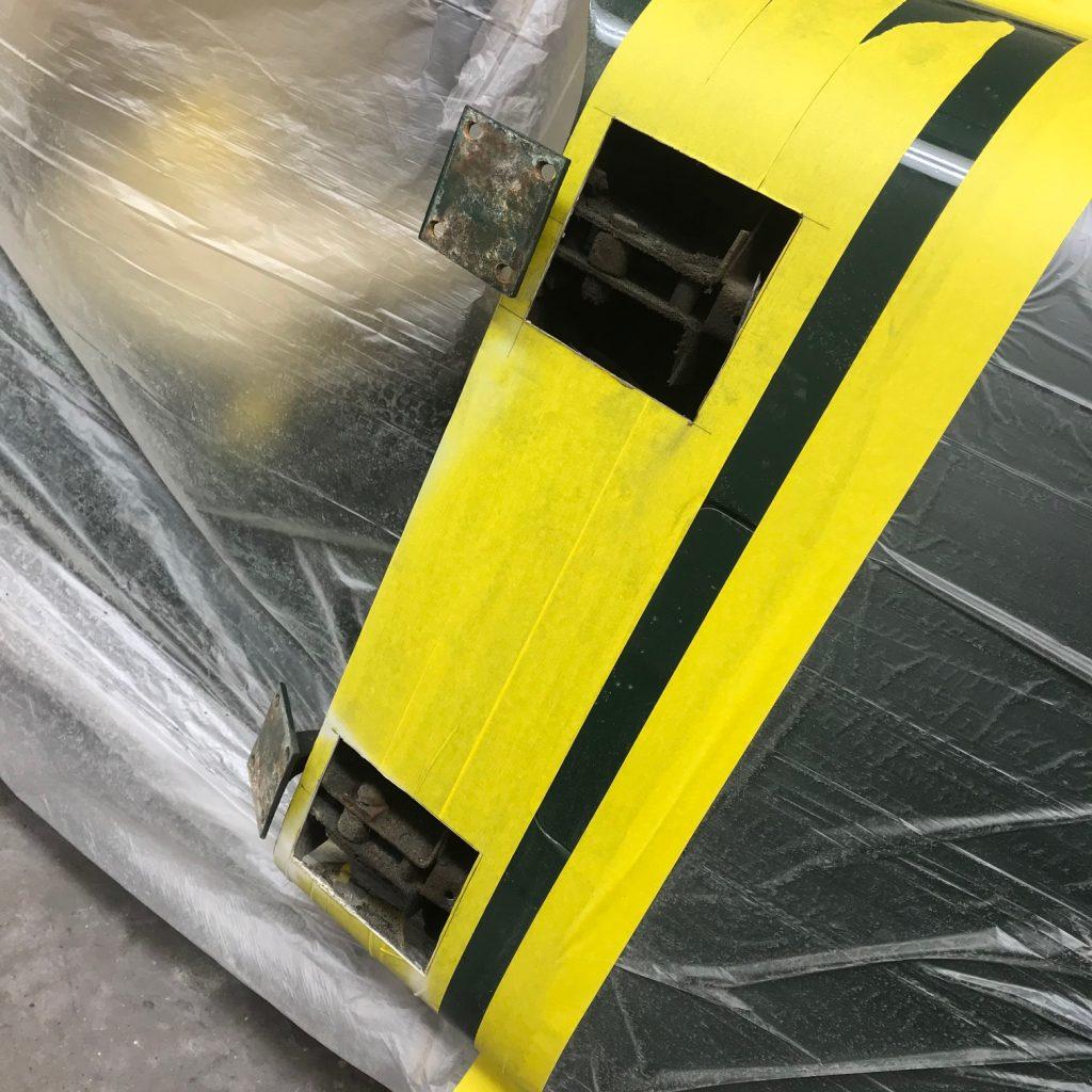 Jaguar XK120 XK140 XK150 door hinge repair