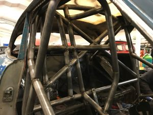 bespoke motorsport roll cage fabrication