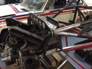 Jim Lee Racing Formula Ford chassis repair FF1600
