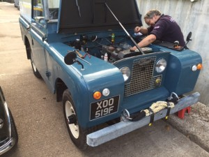 Land Rover series 2 engine tune up