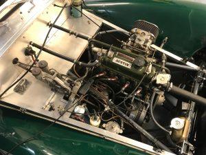 Rolling road tuning Lotus Seven