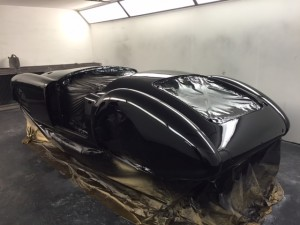 MGA restoration black paint 2