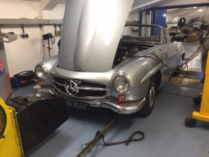 Mercedes 190SL tuning 2