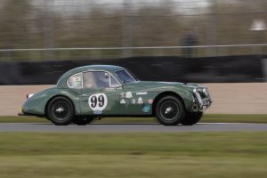 Donington Historic Festival 2019 Jaguar XK140