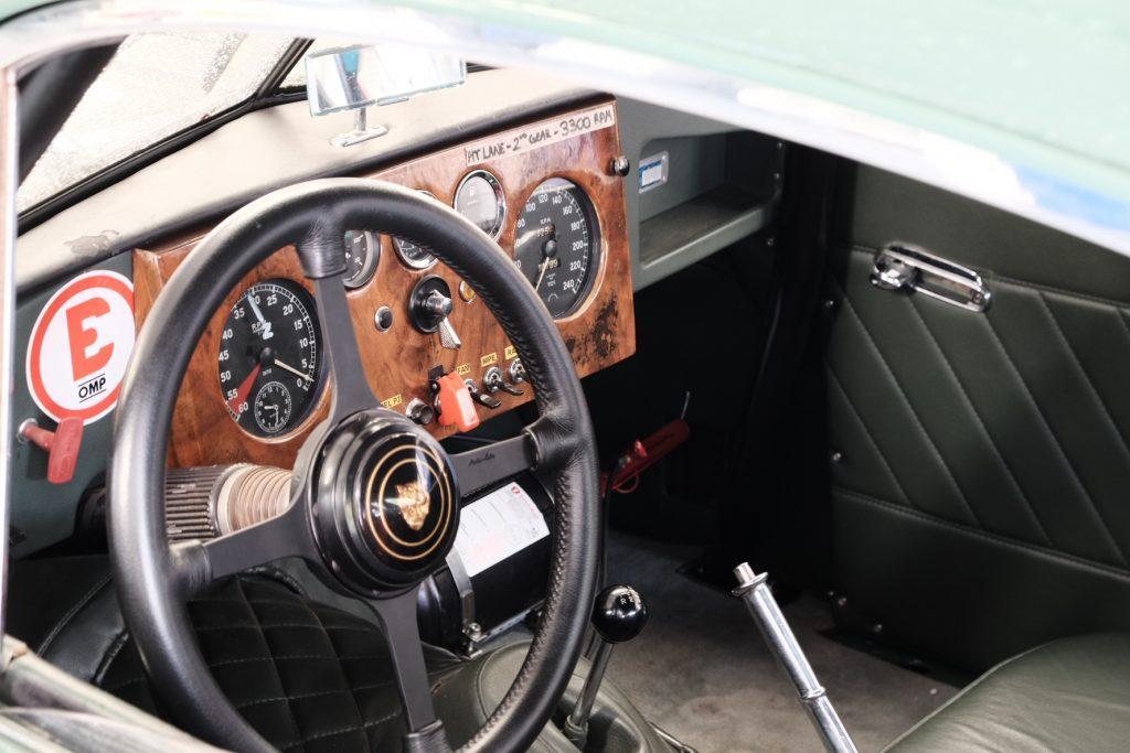 Jaguar XK140 race car