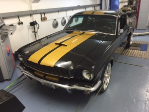 Mustang rolling road sussex cck historic
