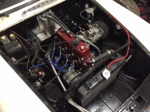 Polley MGB engine