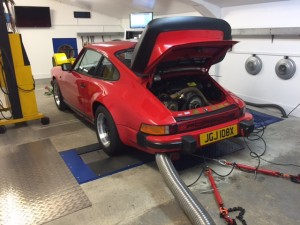 Porsche 911 bosch cdi rolling road tuning classic retrofit cdi+ mappable ignition