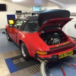 Porsche 911SC fuel injection adjustment tuning rolling road