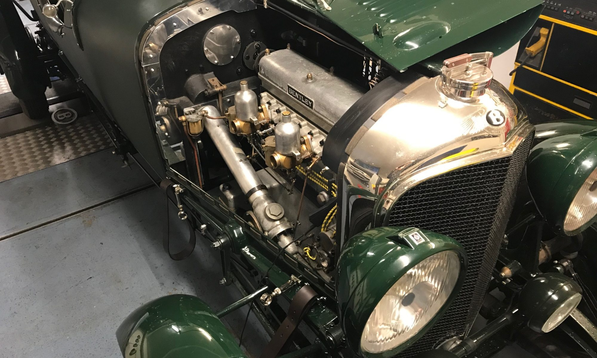 Prewar Bentley carburettor repair service and rolling road tuning