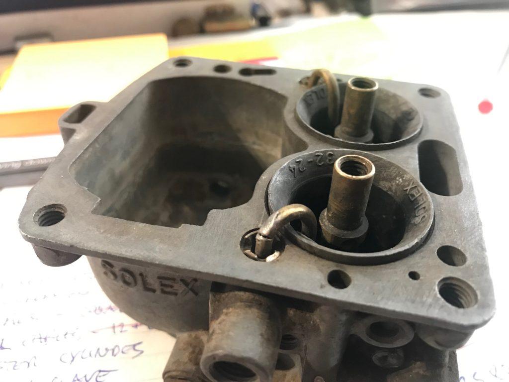 Prewar carburettor rebuild