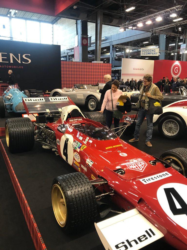 Jack Ickx Ferrari 312
