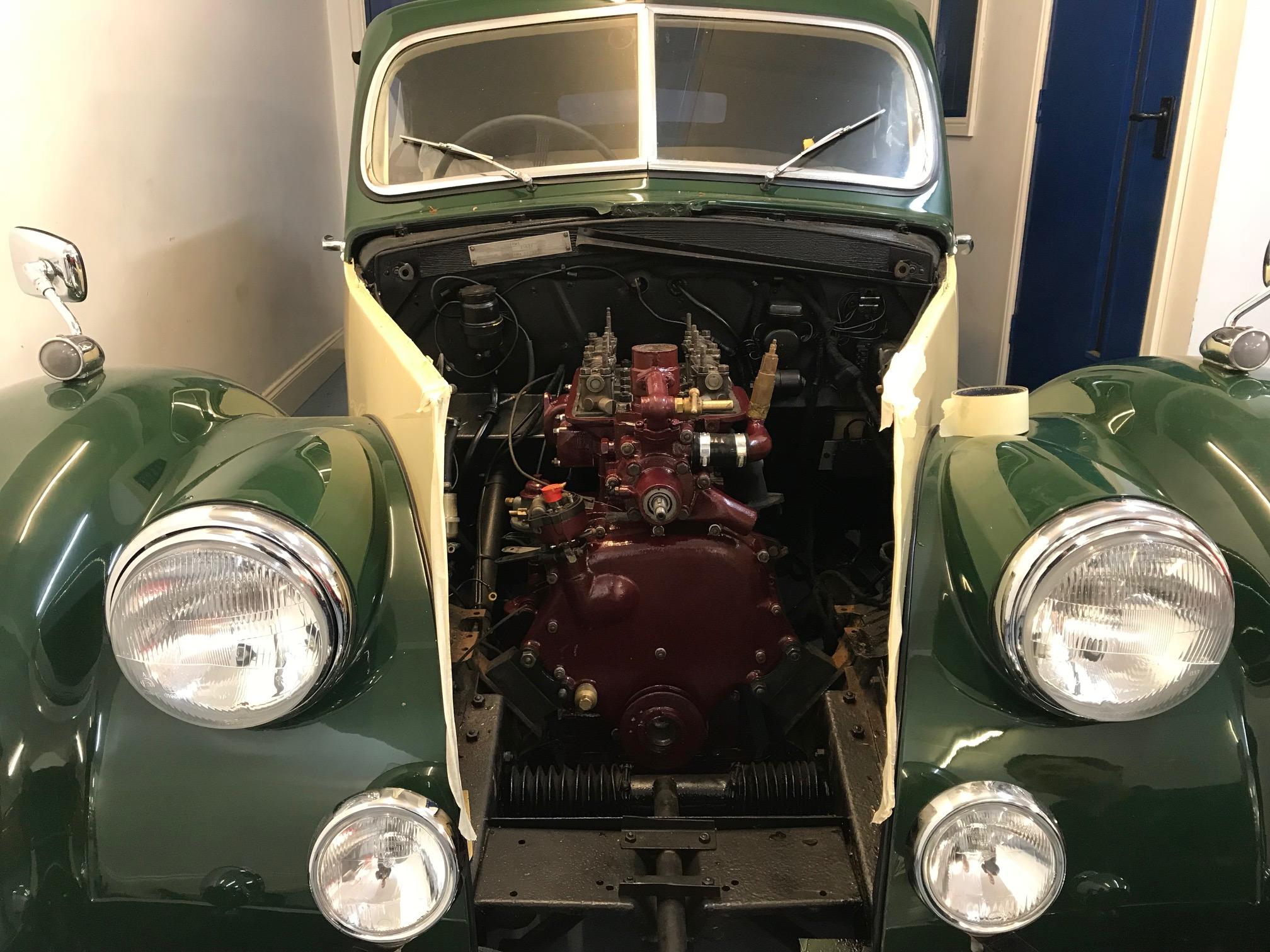 Classic Car Engine Rebuild CCK Historic - Classic car rebuild