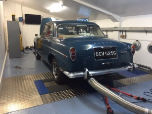 Rover P5 3500 rolling road tune