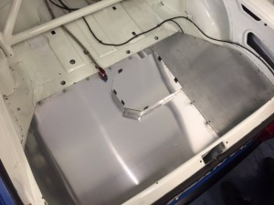 Rover SD1 group 1 fuel tank 2