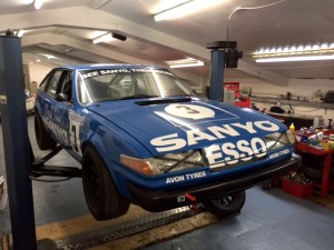 Sanyo-TWR Group 1 Rover SD1 Goodwood Members Meeting