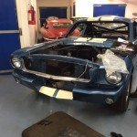 Shelby Ford Mustang GT350R FIA race car build