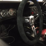 Shelby Ford Mustang GT350R FIA race car dashboard