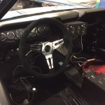 Shelby Ford Mustang GT350R FIA race car dashboard 2