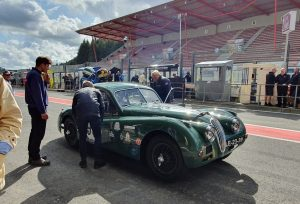 Spa Six Hours Jaguar XK140