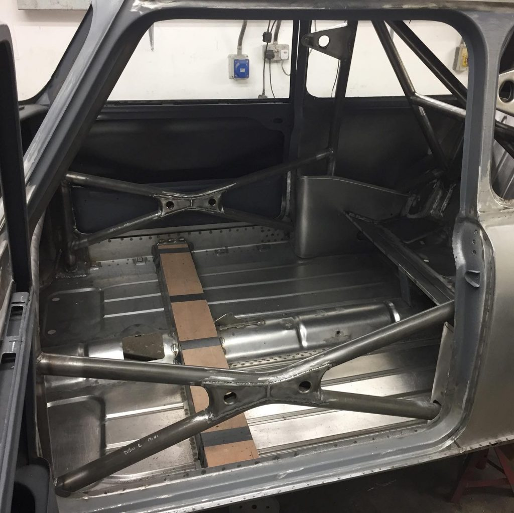 T45 historic mini roll cage