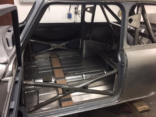 Cck Historic Mk1 Mini T45 Roll Cage Fitting