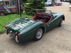 Triumph TR3A 2