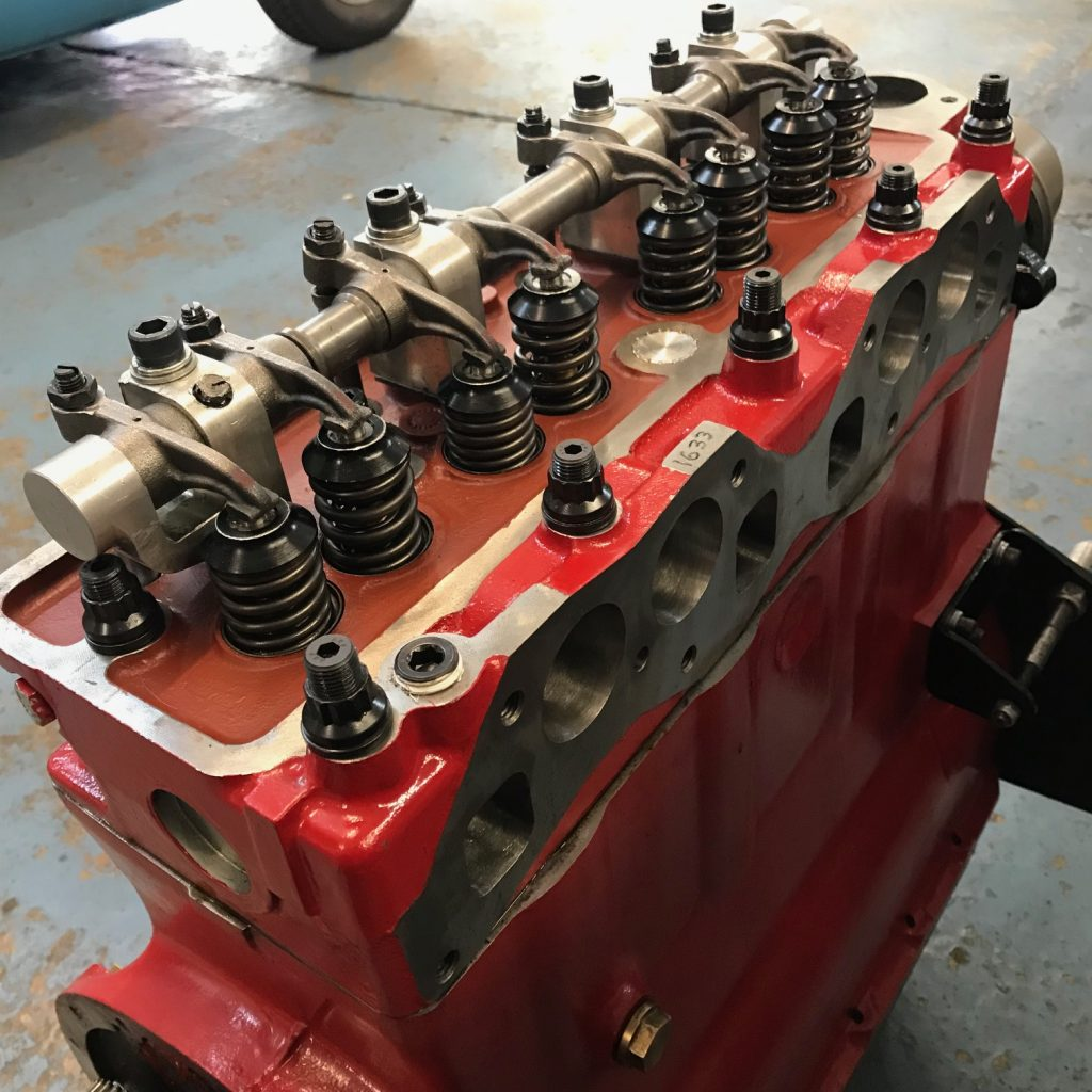 Triumph TR4 race engine rebuild