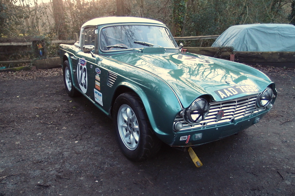 Cck Historic 1964 Triumph Tr4 Race Car For Sale
