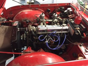 triumph-tr4a-engine-recommissioned