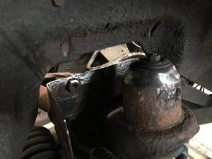 triumph tr6 chassis repair