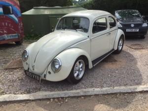 VW Beetle rear window 2