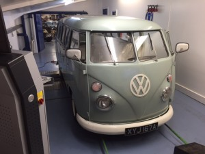 VW split screen camper rolling road tune