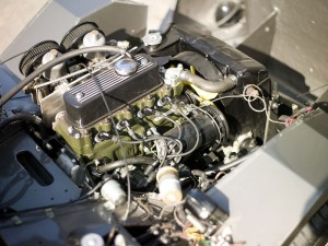 WJB707 Sebring Sprite engine
