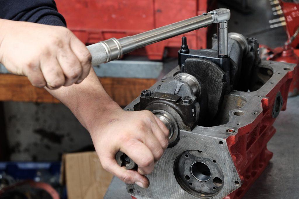 classic mini engine builder