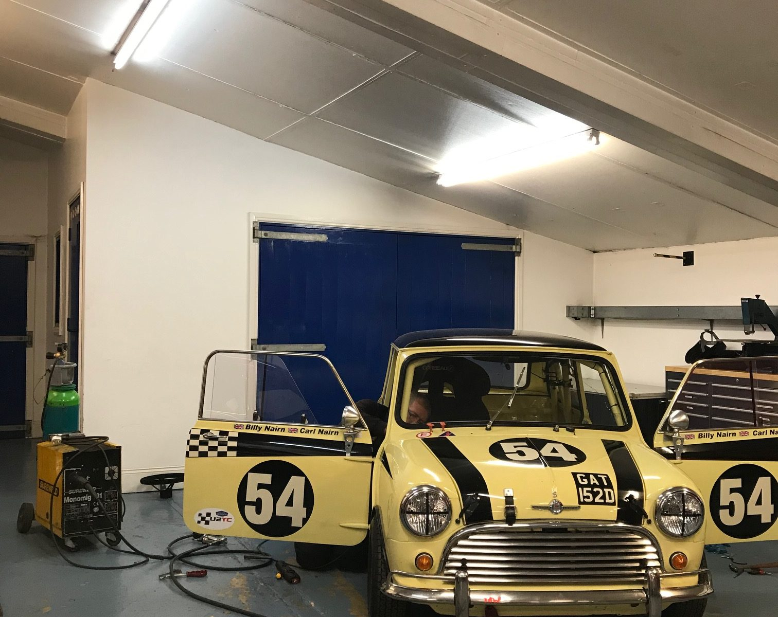 Roll cage modification Mini Cooper S